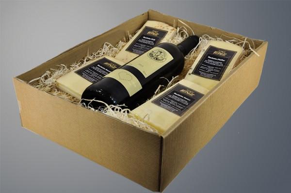 Geschenkbox offene Welle